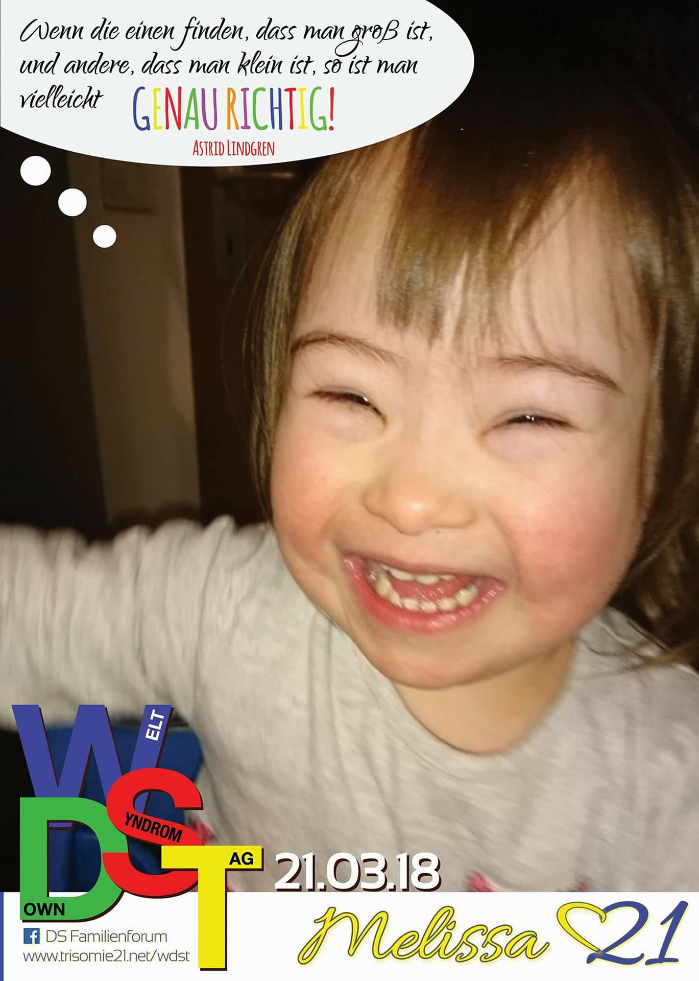 WDST 18 Trisomie.net Melissa