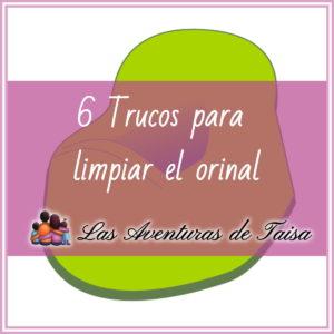 6 trucos para limpiar el orinal