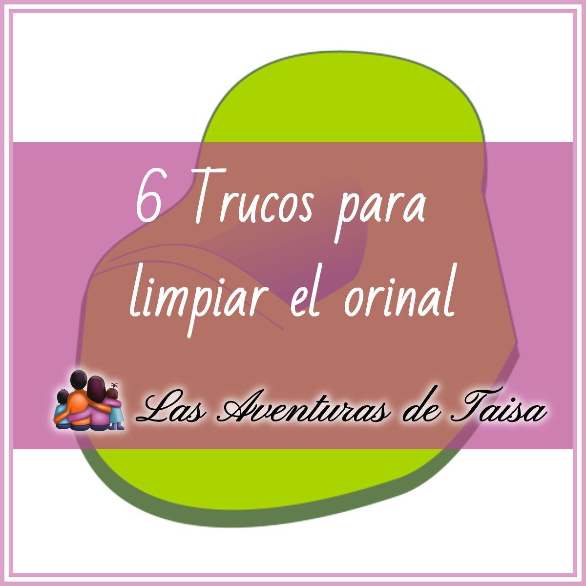 6 trucos para limpiar el orinal sucio