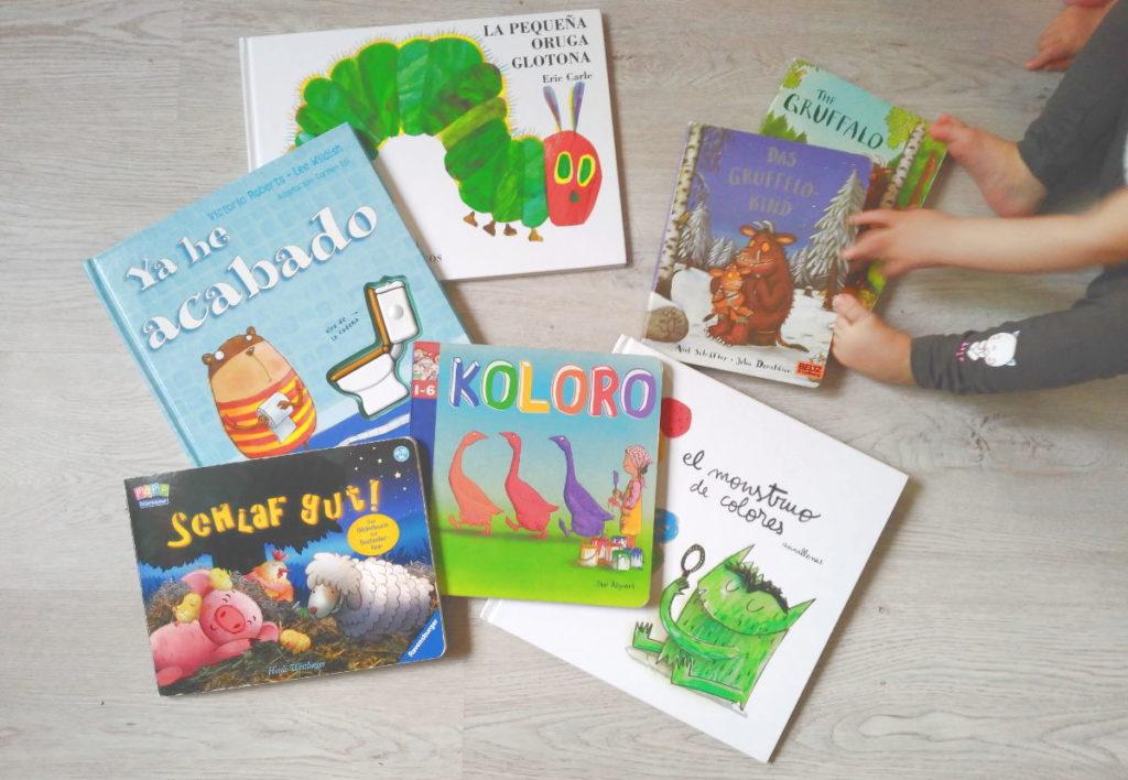 Los libros favoritos de mis hijos - Dia del libro