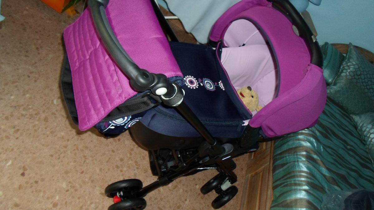 Reflexión sobre la maternidad por un bolso para el carro