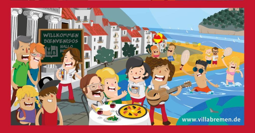 Villabremen Spanisch Bildungsurlaub ID FB