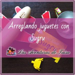 Arreglar juguetes con Sugru - ID