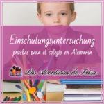 Einschulungsuntersuchung antes de la escuela en alemania