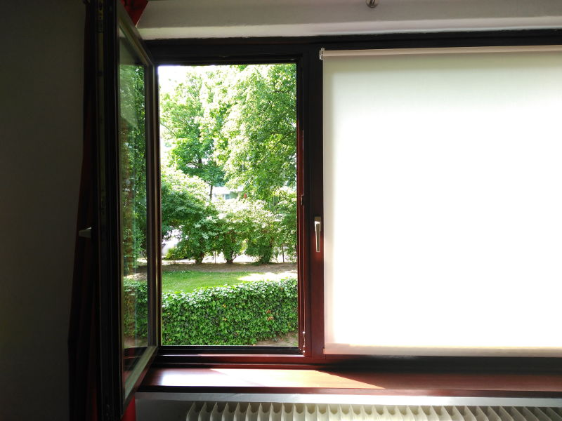 Ventanas típicas de casa en Alemania - Ventilar continuamente
