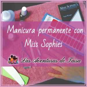 Manicura permanente con láminas de Miss Sophies mi opinion