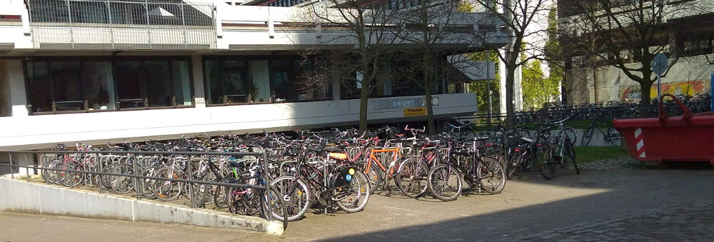 Uso masivo de las bicicletas en Alemania