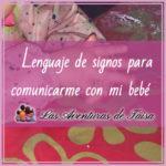lenguaje de signos para comunicarte con tu bebé