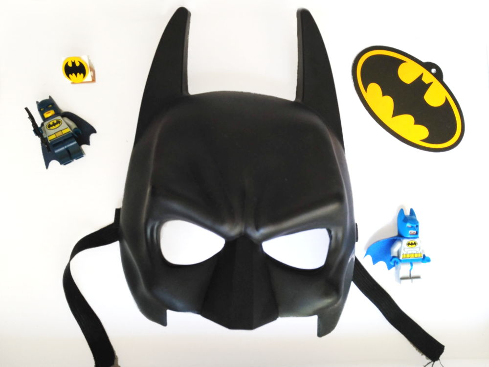 Mascara de disfraz de Batman de Vegaoo