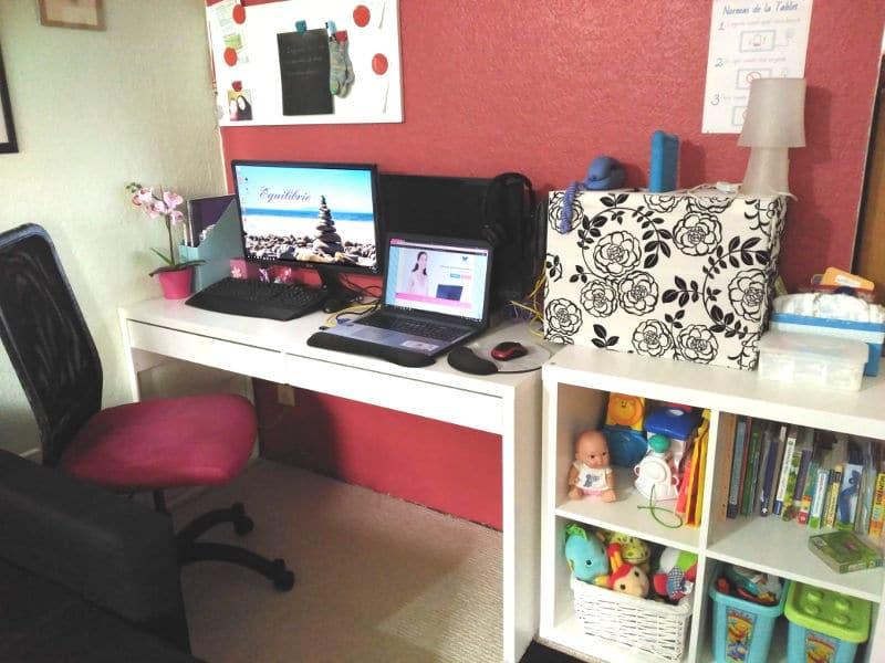 Mi home office - Mi espacio para trabajar en casa con un bebé