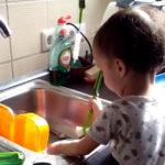 Motivos para usar cepillo de fregar los platos