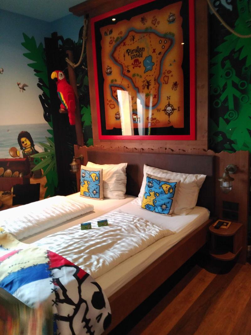 Hotel Pirate Island - Legoland - Habitacion
