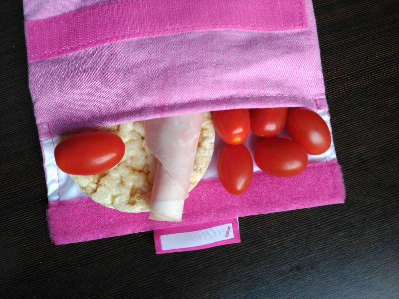 Idea de desayunos sanos para niños - Cherrys, york y tortas de maiz