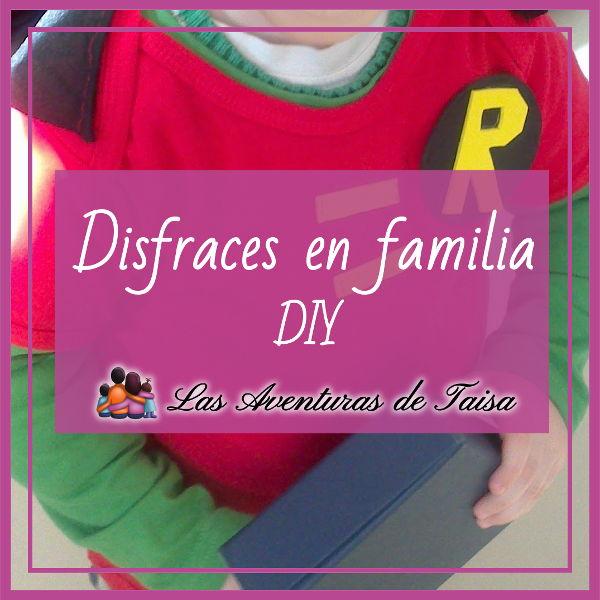 5 Ideas de disfraces en familia caseros y fáciles