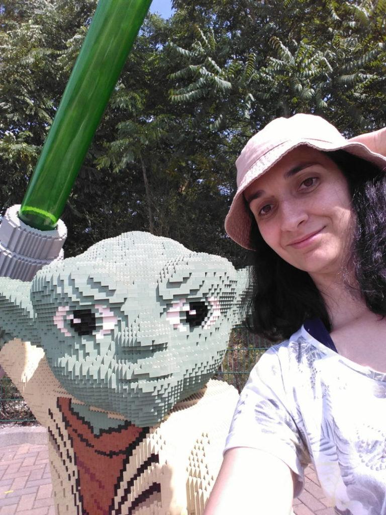 Legoland Alemania - Lego Star Wars - Yoda y Taisa