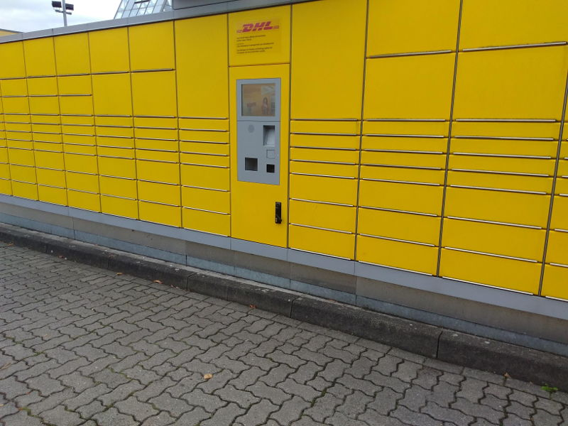 Packstation de DHL en Alemania
