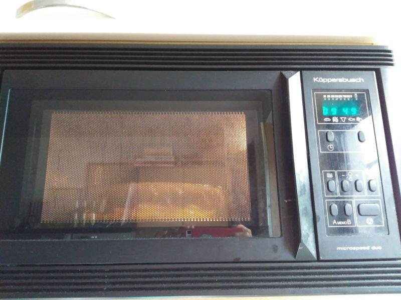 Salmón con patatas al vapor - 10 minutos en el microondas