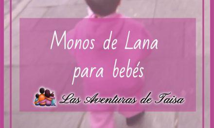 Mono de lana para bebé de Cosilana: Qué nos ha parecido