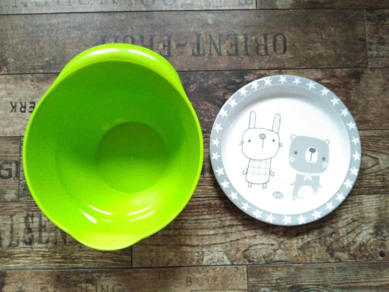 Niños con vómitos - Barreno para vomitar pequeño tamaño plato
