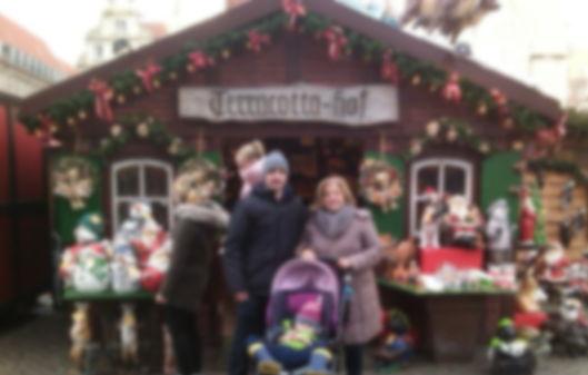 Alemania con niños en Navidad