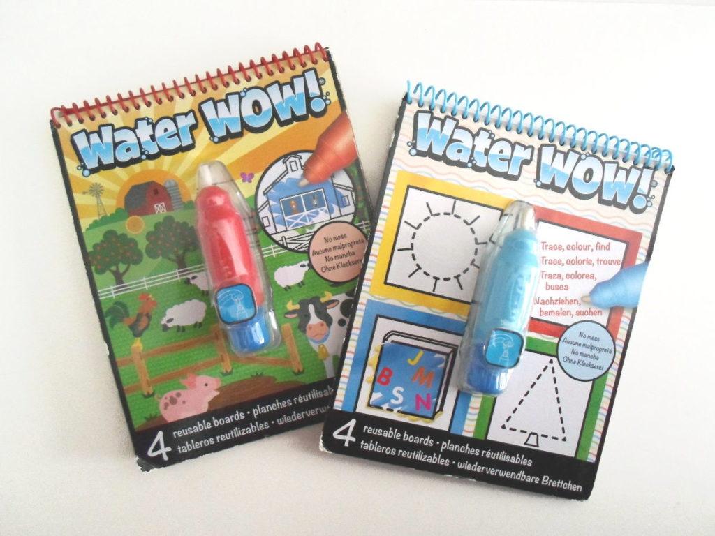 Cuadernos de pintar con agua - Water Wow