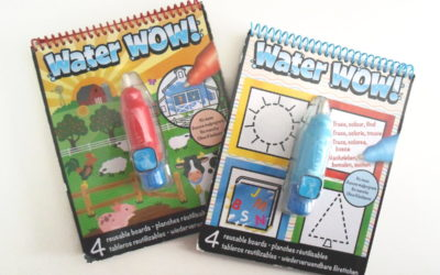 Cuaderno de pintar con agua ideal para viajes