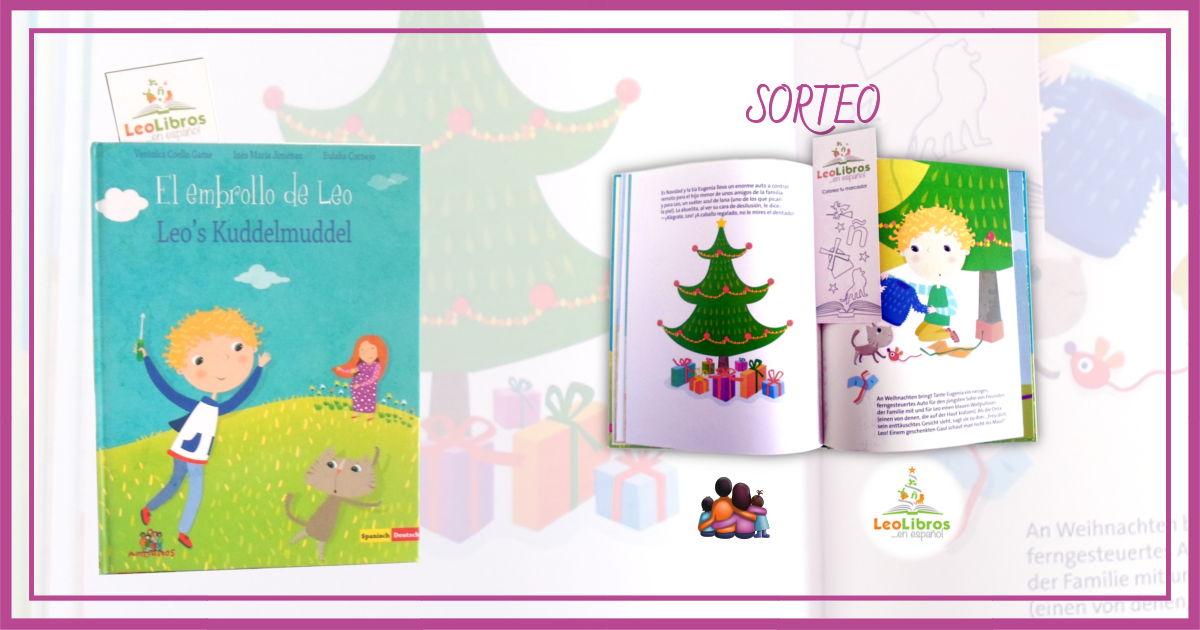 Libro bilingüe español alemán - Sorteo Leolibros - El embrollo de Leo - Leo's Kuddelmuddel