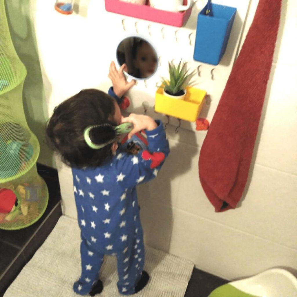 Lavabo adaptado para bebés de Ikea