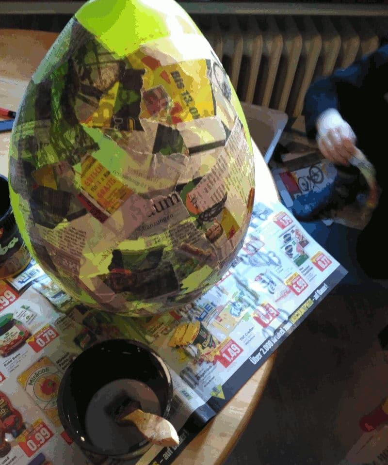 Cómo hacer una Piñata - fase uno