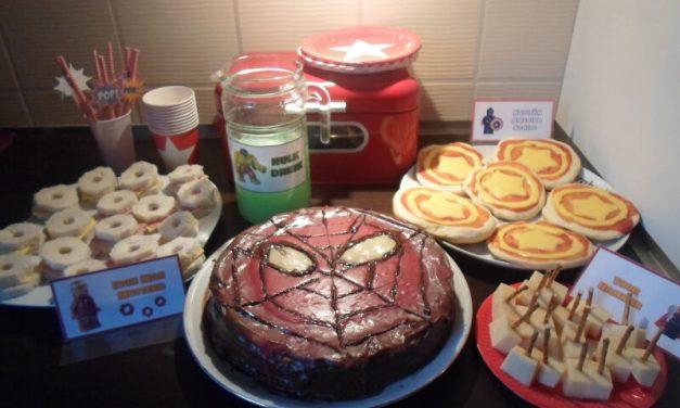Cumpleaños de Spiderman y superheroes