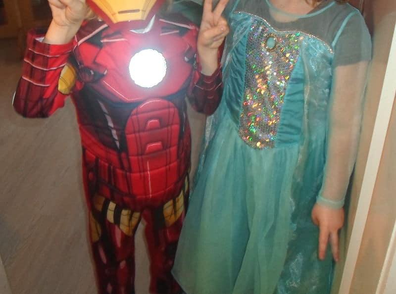 Cumpleaños de superheroes - fiesta de disfraces