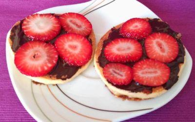 Receta muy fácil de tortitas de Quark y Avena