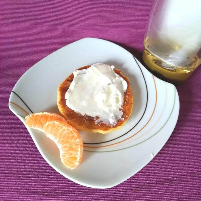 Desayunos saludables - Tortitas con quark y sirope de agave
