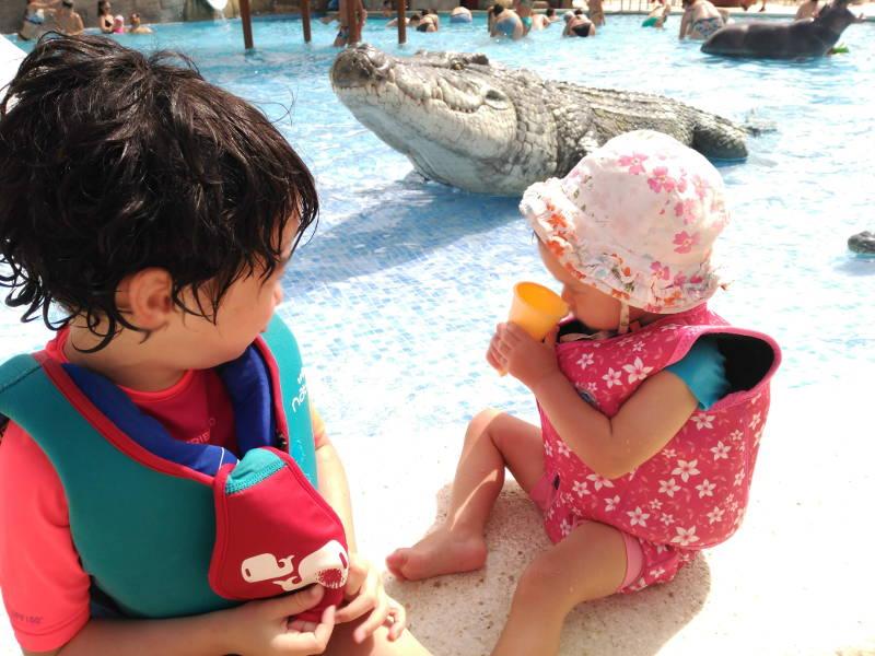 Chaleco de natación bebés o niños - Flotador seguro - Piscina Resort vacaciones