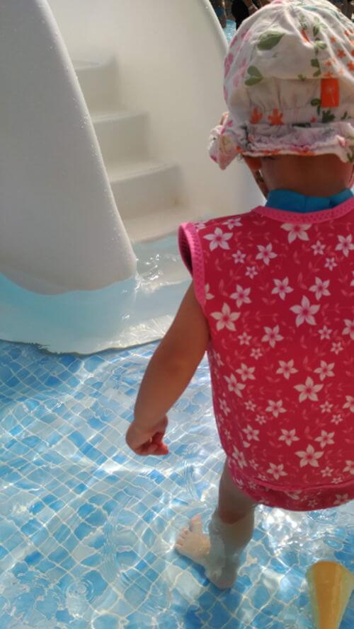 piscina para bebes - resort marjal guardamar