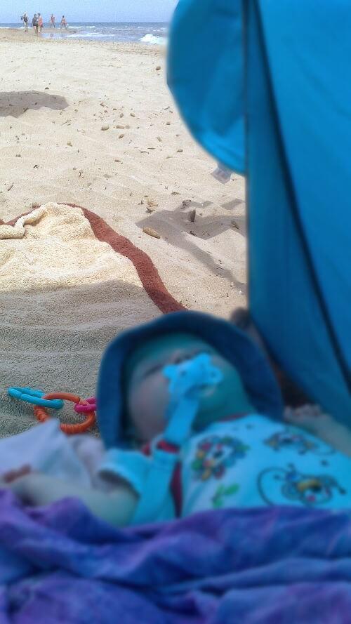 Crema solar para bebés con piel atópica y blanca