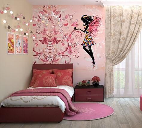 Dejar el pañal por las noches - Imagen ilustrativa, dormitorio infantil