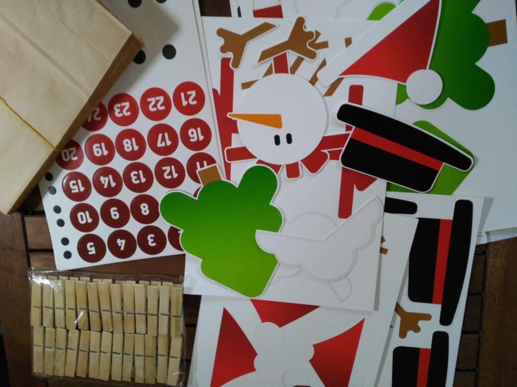 Manualidades navideñas: Calendario de Adviento