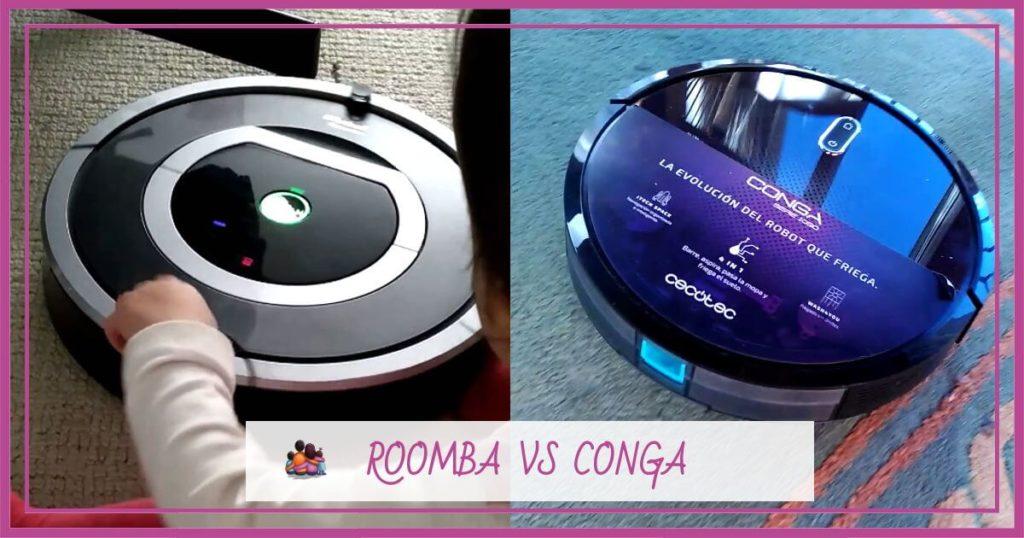 Roomba-vs-conga-mejor-robot-aspirador