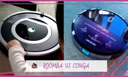 Roomba VS Conga ¿Qué robot aspirador elegir?