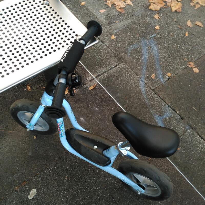 Donar juguetes usados - Bicicleta sin pedales