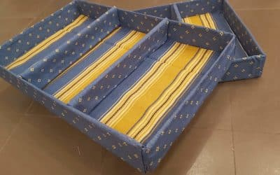 Cómo hacer separadores de cartón para los cajones de ropa