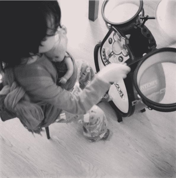 Bateria de juguete para niños - Regalos para niños de 2 a 5 años